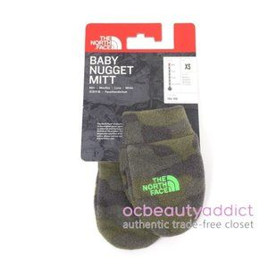 The North Face Baby Nugget Camo Fleece Mittens XS